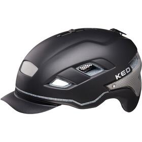 KED Berlin casco per bici nero